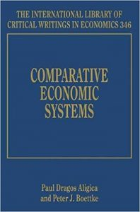 Comparative Economic Systems (Edward Elgar International Library of Critical Writings in Economics Series, Edward Elgar Publishing).